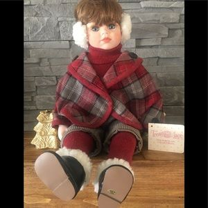 1990's Treasures in Lace porcelain doll